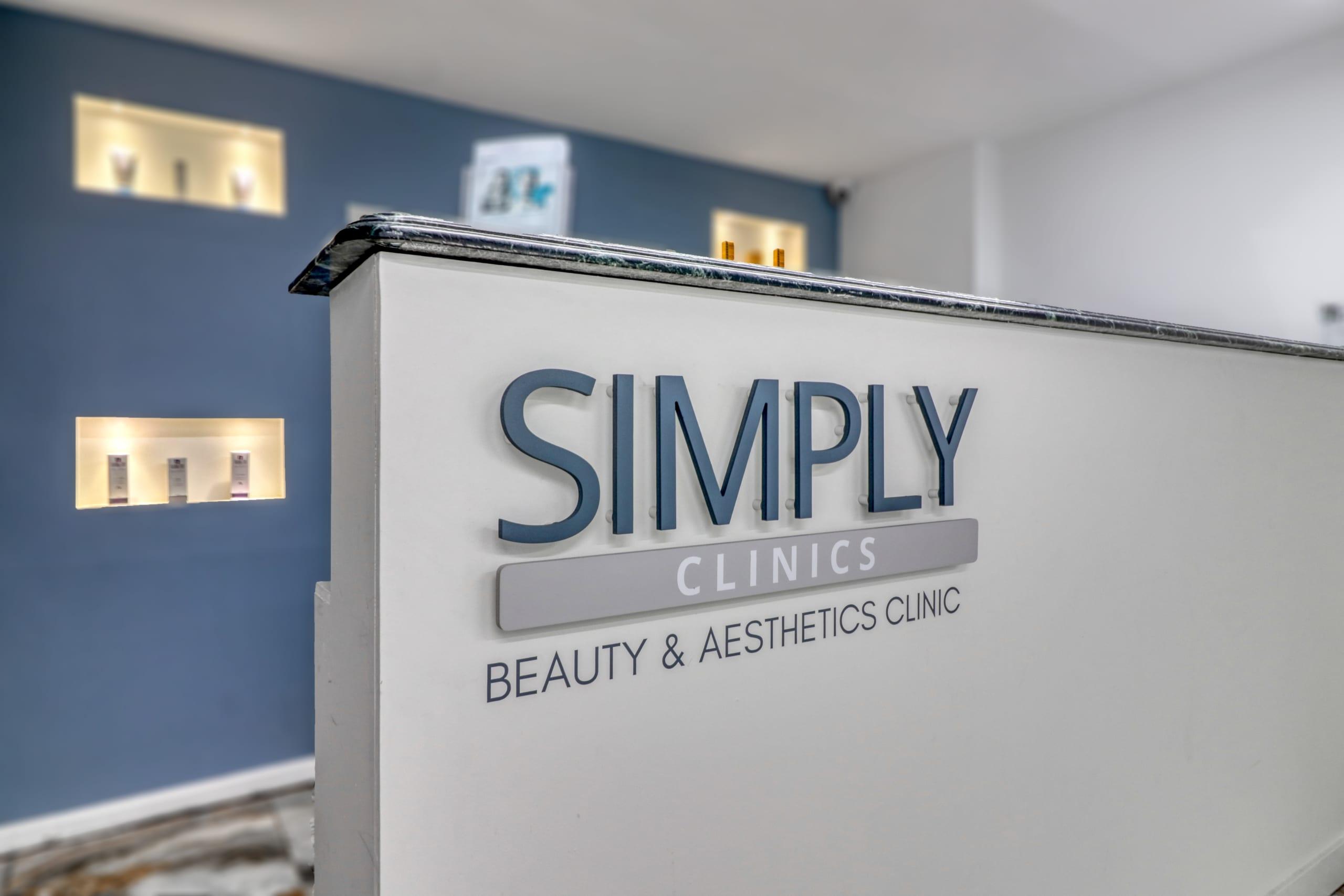 Simply Clinics reception area